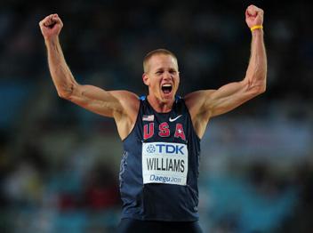 ג'סי וויליאמס ניצח בקפיצה לגובה עם 2.35
