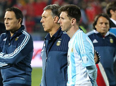 מרטינו: במקום מסי הייתי עוזב את הנבחרת