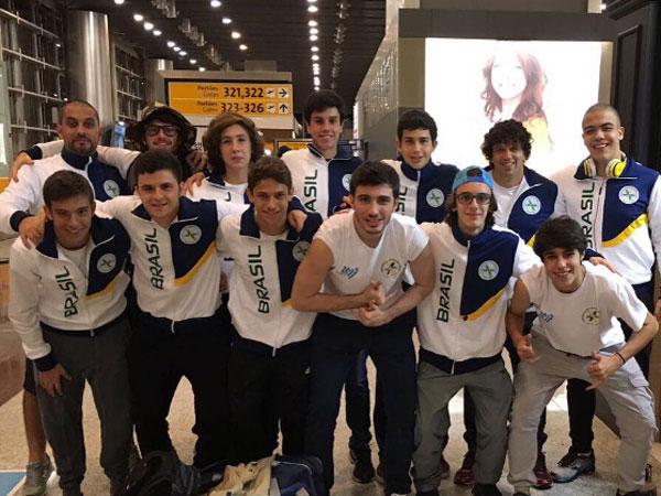 אורח במכביה: בנו של רונאלדו הברזילאי