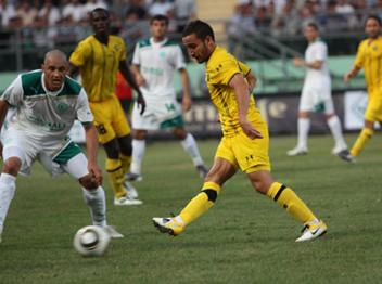 """צפו בתיקו 0:0 של מכבי בגומלין מול לאנקאראן (צילום: עופר רונן, מכבי ת""""א)"""