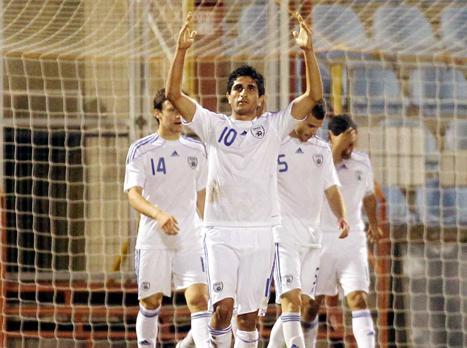 יש עוד תקווה. שחקני נבחרת הנוער (אלן שיבר) צפו בתקציר