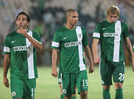 בפעם הראשונה העונה: שחקני חיפה מאוכזבים