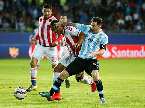 מועדון קרב: ארגנטינה ופראגוואי רוצות גמר