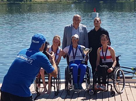 מדליית זהב ושיא עולם למורן סמואל באיטליה