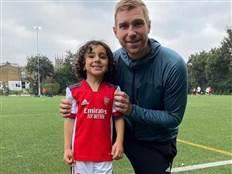 """""""מסי הקטן"""": השחקן בן ה-5 שמשגע את ארסנל"""