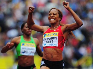 סאניה ריצ'ארדס ניצחה ב-400 מטרים