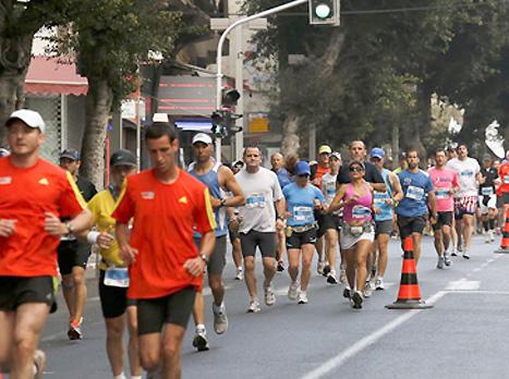 מרתון תל אביב, הסתיים באסון (האתר הרשמי)