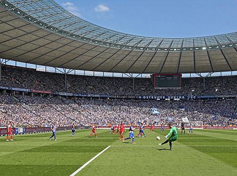 האיצטדיון בברלין. כבוד לגרמניה (gettyimages)