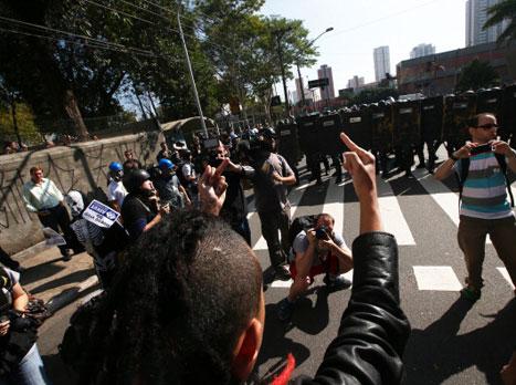 """""""שמח"""" בסאו פאולו (gettyimages)"""