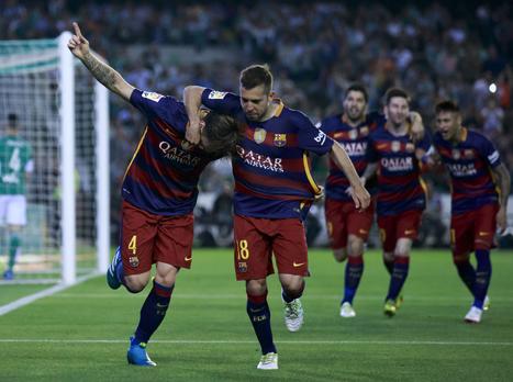 ברצלונה שוב בפסגה עם 0:2 על בטיס בחוץ