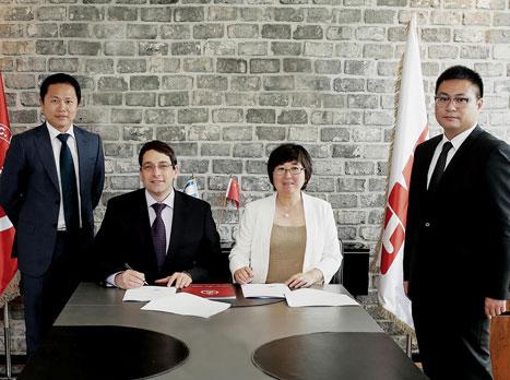 נחתם הסכם שיתוף פעולה בין הפועל ל-CMEC