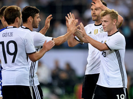 הכנה, דקה 65: גרמניה מול פינלנד 0:1