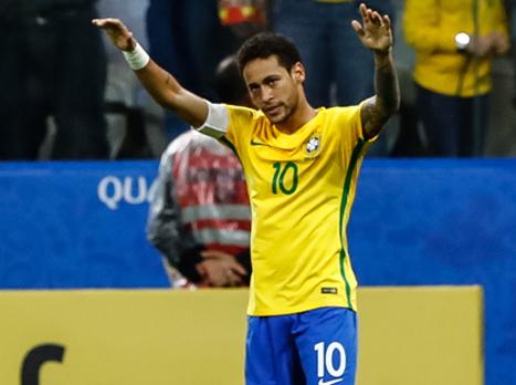 רשמית: ברזיל במונדיאל עם 0:3 על פרגוואי