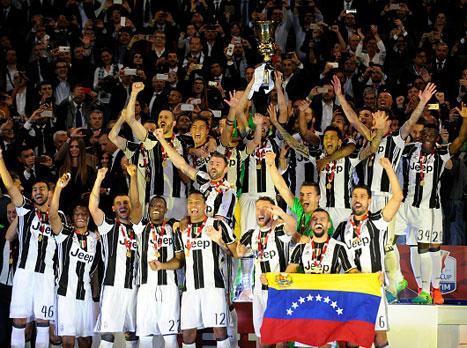 הגנה על התואר: יובנטוס זכתה בגביע 3 רצוף
