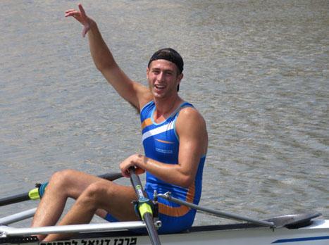 עומרי שנצר בן ה-19 זכה באליפות ישראל
