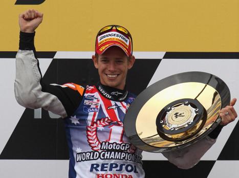 Moto GP: קייסי סטונר זכה באליפות העולם