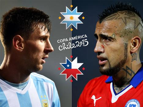 23:00: צ'ילה מול ארגנטינה בגמר הקופה