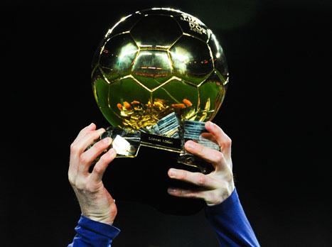 רונאלדו ומסי בין המועמדים לכדור הזהב