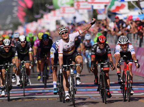 ג'ירו ד'איטליה: גרייפל זכה בקטע השני