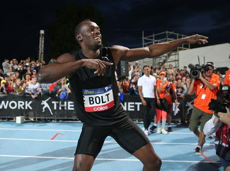 האחרון בג'מייקה: בולט זכה במרוץ 100 מטר