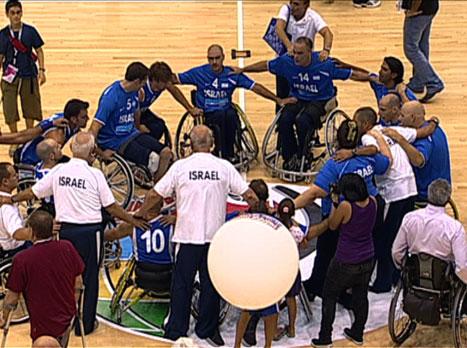 כסאות גלגלים: ישראל גברה 38:66 על שווייץ