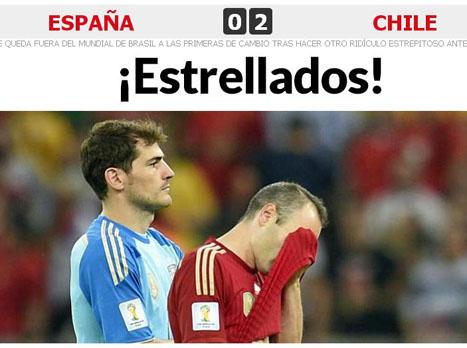 גירוש ספרד. גם התקשורת בהלם (צילום: אתר המארקה)