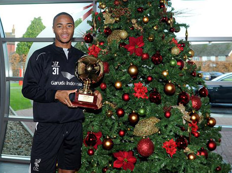 סטרלינג הוכתר לשחקן הצעיר הטוב באירופה