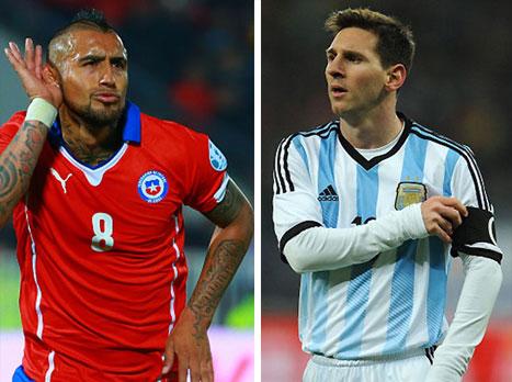 צ'ילה וארגנטינה בגמר: כל מה שצריך לדעת