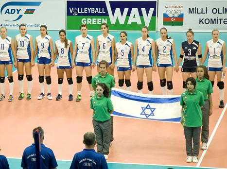 הפסד מעודד לישראל (איגוד הכדורעף)