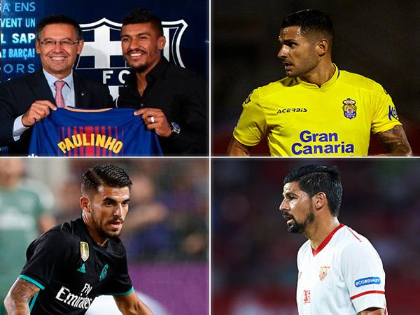 אי של שקט: הסגלים החדשים בליגה הספרדית