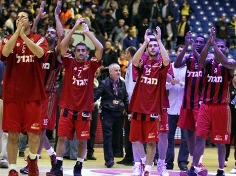 ניצחון שייתן ביטחון. שחקני ירושלים (gettyimages) צפו בתקציר המשחק
