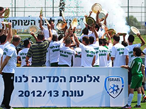חגיגה ירוקה בנוער (האתר הרשמי של מכבי חיפה)