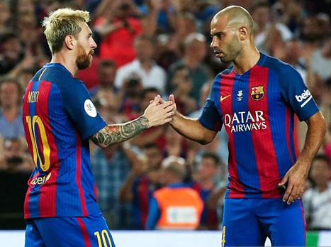 """מסצ'ראנו: """"ליאו מסי גדול יותר מברצלונה"""""""
