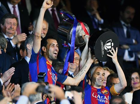 שלוש ולהתראות: ברצלונה זכתה בגביע המלך