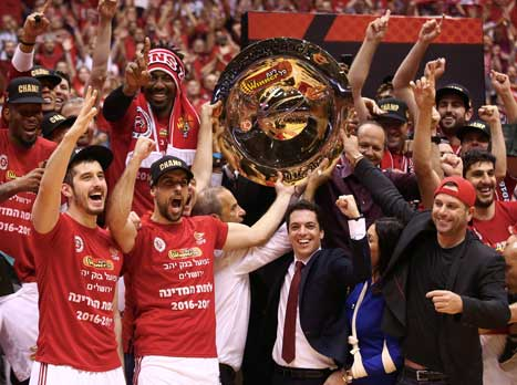 חגיגה אדומה. צפו: ירושלים זכתה באליפות