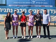 גלושקו וקמחי זכו בטורניר הזוגות בנתניה