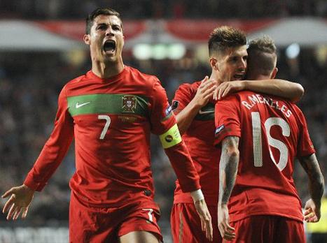 (AFP) צפו במופע של פורטוגל