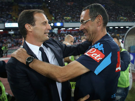 ניצח את יובנטוס: סארי מאמן השנה באיטליה