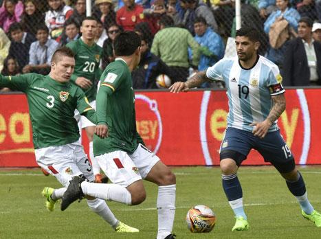 ארגנטינה הפסידה 2:0 לבוליביה ללא מסי