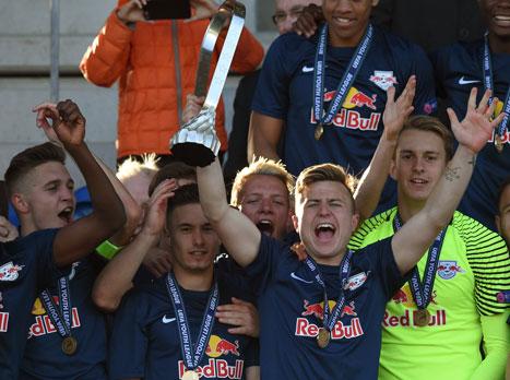 צפו: זלצבורג זכתה בליגת האלופות לנוער