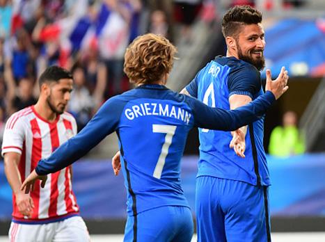 צרפת מוכנה לקרב מול שבדיה (getty)
