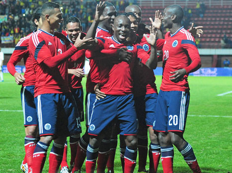 ועכשיו לדבר האמיתי. שחקני קולומביה בהכנה למונדיאל (gettyimages). צפו באימון נבחרת יוון