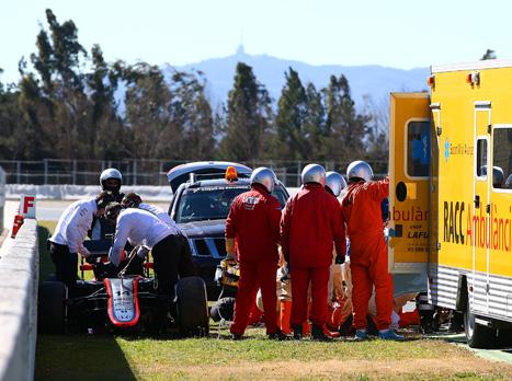 לאחר התאונה: אלונסו לא יפתח את עונת 2015