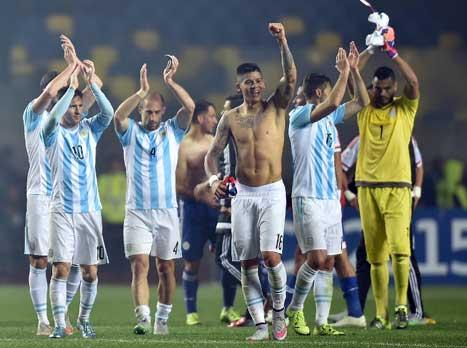 הדרך לאושר: כך הגיעה ארגנטינה לגמר הקופה