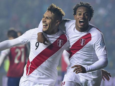 צפו: פרו במקום השלישי עם 0:2 על פראגוואי