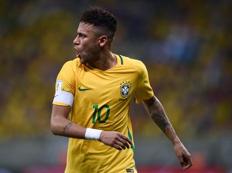 הפעם עם ניימאר: הסגל של ברזיל לריו פורסם