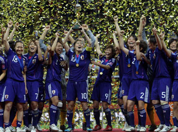 נשים: יפן ניצחה את ארה
