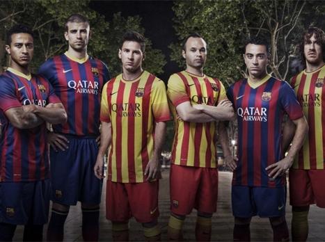 המדים החדשים של ברצלונה