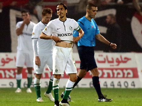 חיפה ספגה בדקה ה-90, 1:1 מול סכנין