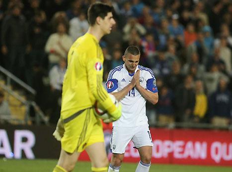חצי מכובד: צפו בישראל מפסידה 1:0 לבלגיה